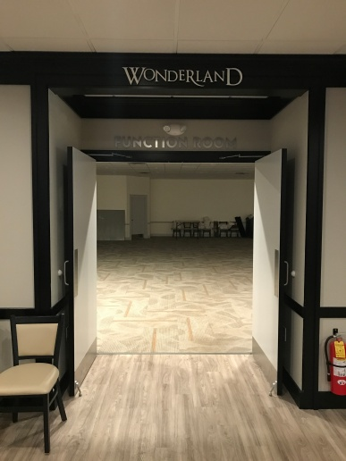 Entrance to the Wonderland Room