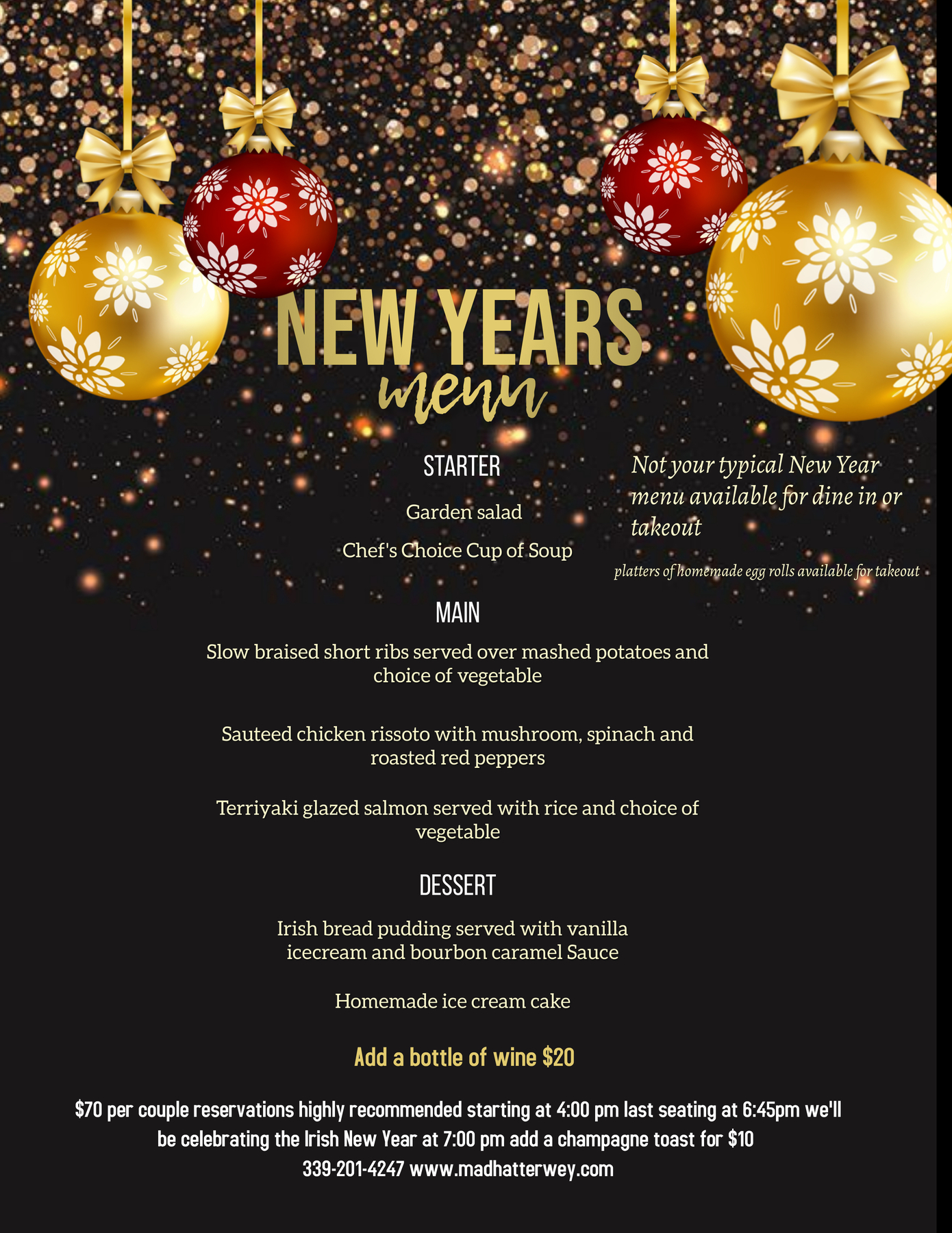 Copy of NEW YEARS EVE DINNER MENU FLYER TEMPLATE (1)
